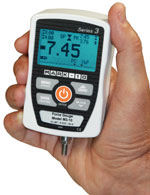 The Mark-10 M3 digital force gauge