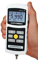 The Mark-10 M7 digital force gauge replaces the BG series adding many new features.
